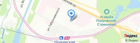 КуклаДом на карте Москвы