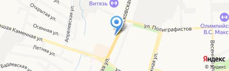 Киоск по продаже мороженого на карте Чехова
