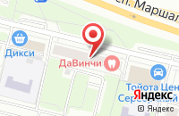 Схема проезда до компании Конвэкс в Москве