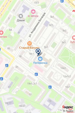 ЦЕНТР ДОСУГА БЛЭК ХОЗ на карте Москвы