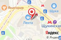 Схема проезда до компании Алвис-Строй в Москве