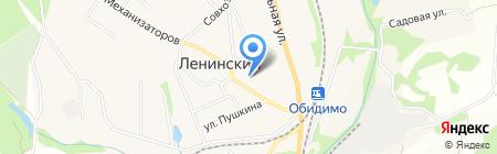 Мировые судьи Ленинского района на карте Барсуков