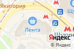 Схема проезда до компании Анекс Тур в Москве