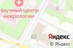 Схема проезда до компании Агтех в Москве