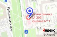 Схема проезда до компании СУ № 204 в Москве