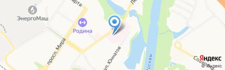 Химкинская центральная городская больница на карте Химок