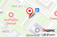 Схема проезда до компании Промтехперсонал в Москве