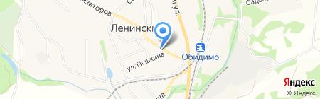 Ленинская межпоселенческая центральная районная библиотека на карте Барсуков