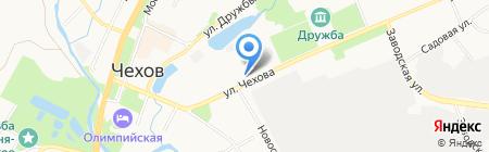 Восход на карте Чехова