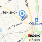 Ленинская межпоселенческая центральная районная библиотека на карте Ленинского