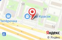 Схема проезда до компании Верес в Москве