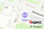Схема проезда до компании Магазин одежды в Лобне