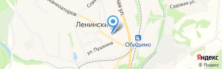 Участковый пункт полиции на карте Барсуков