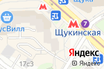 Схема проезда до компании VAPE SHOP в Москве