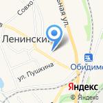 Участковый пункт полиции на карте Ленинского