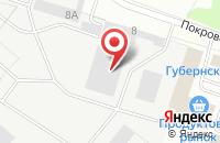 Схема проезда до компании Чеховшвейпром в Чехове