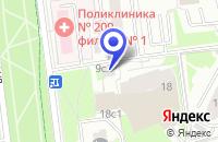 Схема проезда до компании ПТФ СЕРЕБРЯНЫЙ ДОЖДЬ в Москве