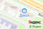 Схема проезда до компании Hyundai Power Products в Москве