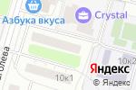 Схема проезда до компании Квадрант в Москве