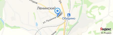 Магазин канцелярских товаров и развивающих игр на карте Барсуков