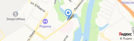 Roast&Grill на карте Химок