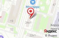 Схема проезда до компании Сгс в Москве