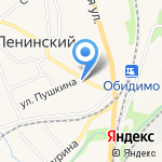 Магнит Косметик на карте Ленинского