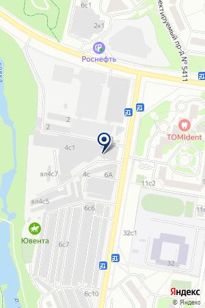 Колеса и Шины на карте Москвы