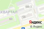 Схема проезда до компании Наш дом 58 в Москве