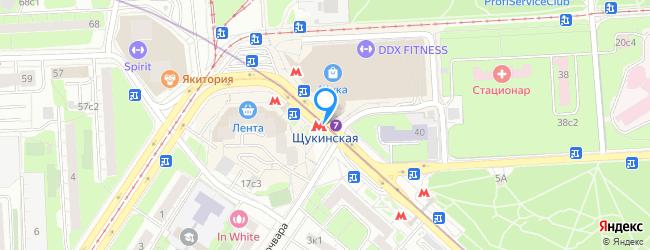 метро Щукинская