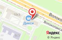 Схема проезда до компании Аллонж в Москве