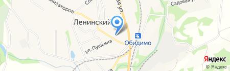 Отдел службы судебных приставов Ленинского района на карте Барсуков