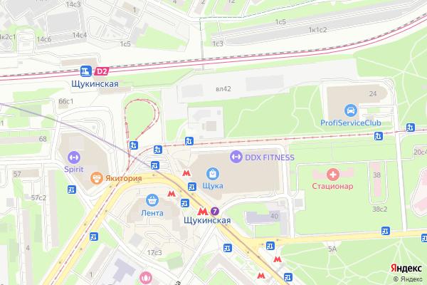 Ремонт телевизоров Улица Авиационная на яндекс карте