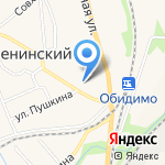 Отдел судебных приставов Ленинского района на карте Ленинского