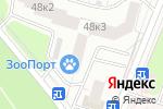 Схема проезда до компании Нифель в Москве