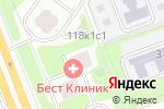 Схема проезда до компании Диантек в Москве