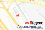 Схема проезда до компании Финист в Москве