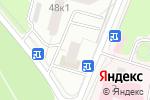 Схема проезда до компании Адель+М в Москве