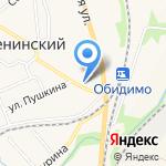 Будь здоров на карте Ленинского