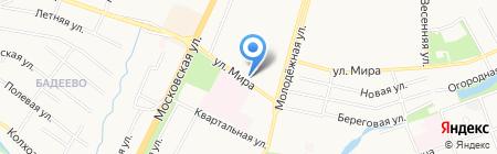 Комфорт`Эль на карте Чехова