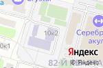 Схема проезда до компании Program Football в Москве