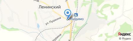 Фиалка на карте Барсуков