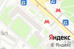 Схема проезда до компании Волгоградский текстиль в Москве