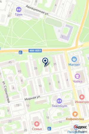 ОБЩЕЖИТИЕ ЦЕНТРЭНЕРГОМОНТАЖ ЖКК на карте Лобни