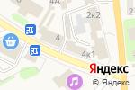 Схема проезда до компании Лизавета в Ленинском