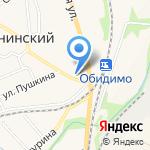 Лизавета на карте Ленинского