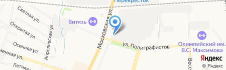 Мебельная страна на карте Чехова