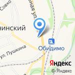Столовая на карте Ленинского