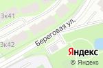 Схема проезда до компании Галерея плитки в Москве