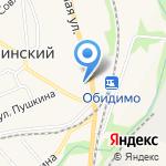 Продуктовый магазин №46 на карте Ленинского